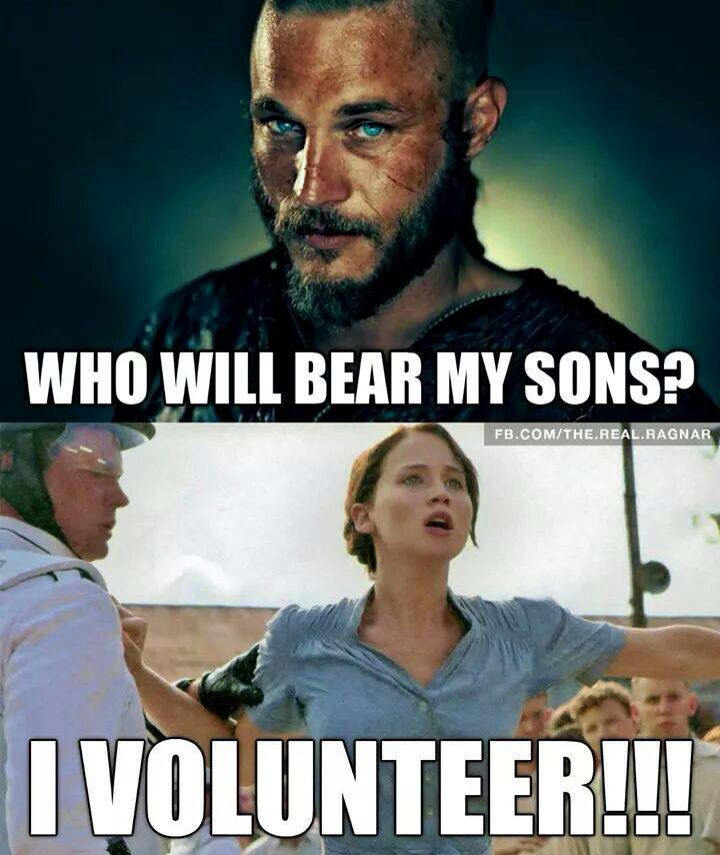 Travis Fimmel meme- This just makes me laugh, but I had to pin