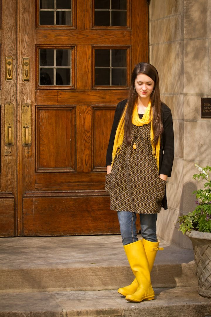 Yellow boots Yellow and Boots on Pinterest
