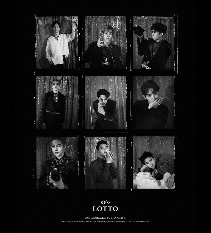 "EXO álbum repackage ""LOTTO"""