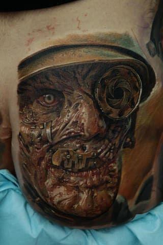 Este artista tatuador ucraniano hace los tatuajes más realistas del mundo