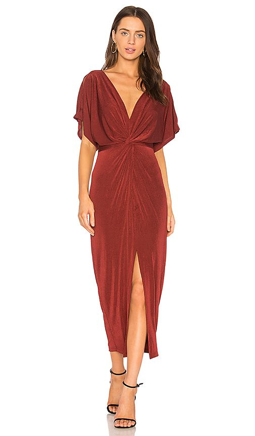 Shop for ASTR Kiera Dress in Wine at REVOLVE. Free 2,3 day