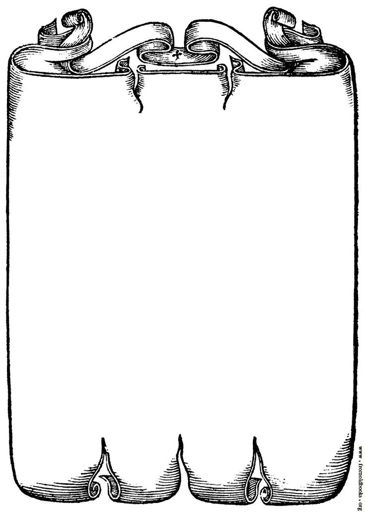 Picture Scrollwork Border From Page 227