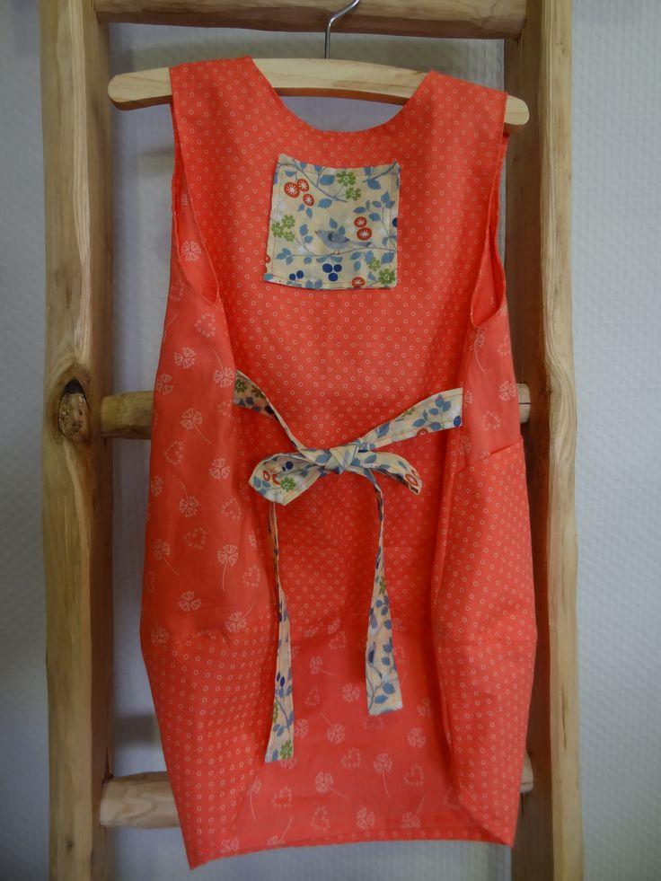 Robe Scarlett et Marguerite pour la Boutik' Créative - taille 18 mois - tissus Frou-Frou