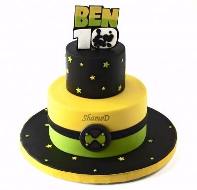 Ben 10 Cake  By ShamsD on CakeCentral.com