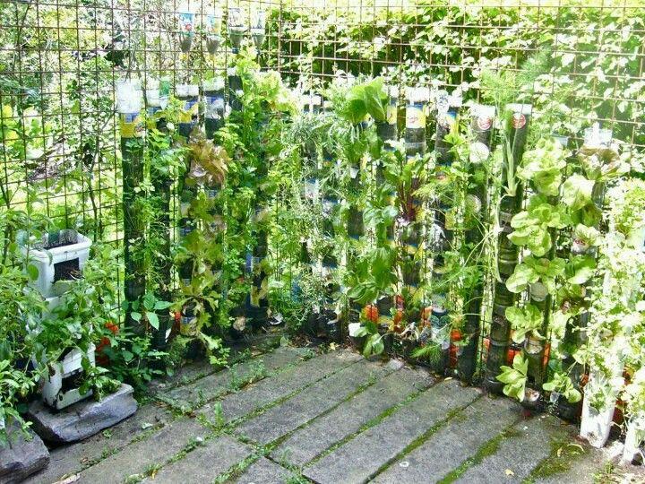 Huertas verticales balcones pinterest - Garden tower vertical container garden ...