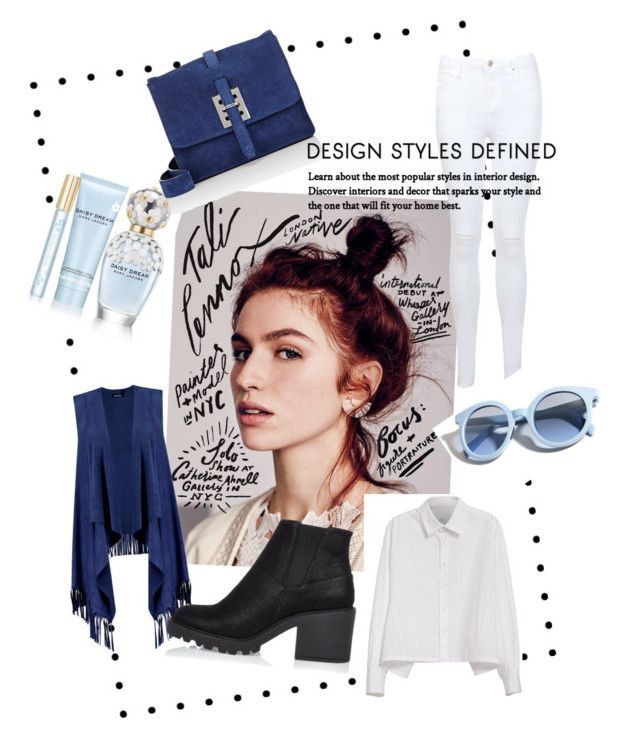 """BLUE"" by aulianka on Polyvore featuring Free People, Boohoo, Y's by Yohji Yamamoto, Miss Selfridge, River Island, Marc Jacobs, Fontana Milano 1915 and Pinko"