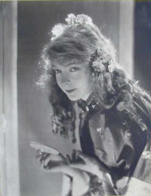 Lillian Gish by Baron Adolph de Meyer