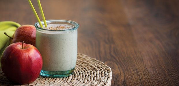 Apple Crisp Smoothie: drink your (healthy) dessert. #nothingwrongwiththat
