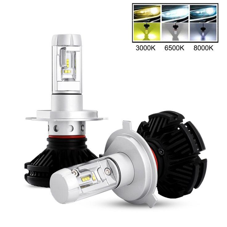 Car Headlamp H11 LED Bulb H4 H7 H13 9005 9006 9007 Auto Headlight Lamp Kit 3000K 6500K 8000K 3 Colors DIY 12V 24V Vehicle Lights. Yesterday's price: US $59.98 (49.14 EUR). Today's price: US $28.19 (23.03 EUR). Discount: 53%.