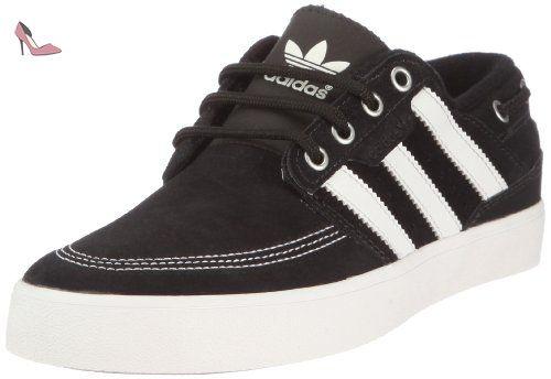 adidas Zx 500 2.0, Baskets mode mixte adulte - Noir (Black 1/Black 1/Running White Ftw), 36 2/3 EU