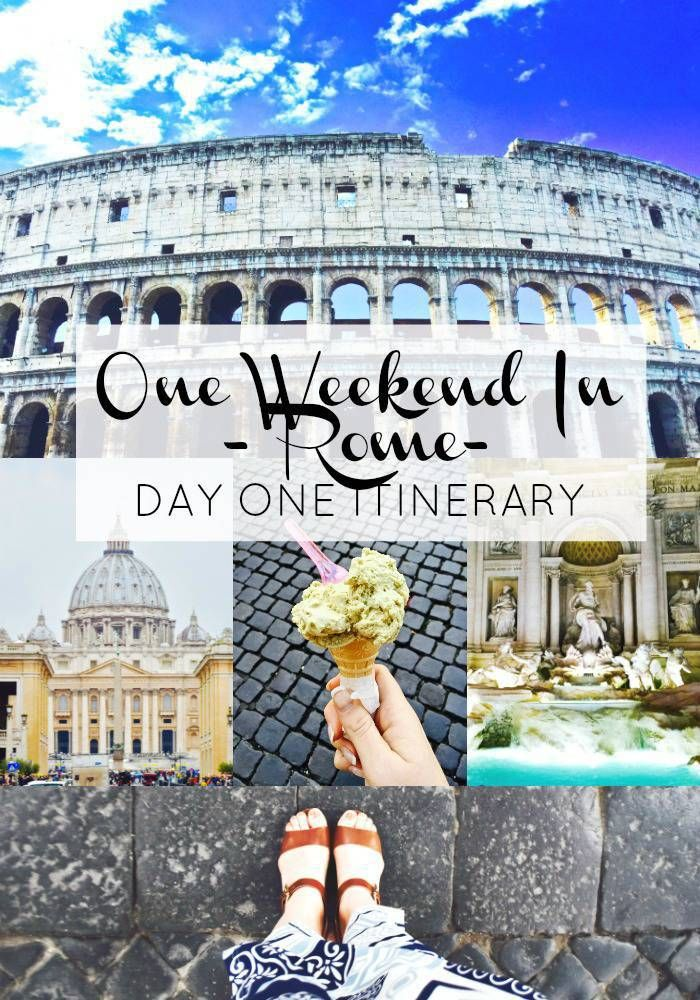 Only have 48 hours in Rome? This full-day itinerary will make your trip to the eternal city unforgettable. Buon viaggio!