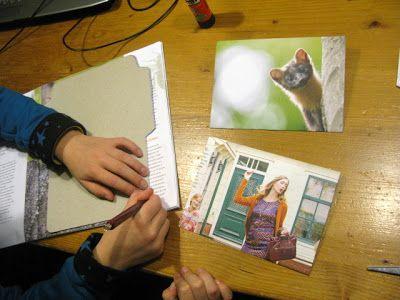enveloppen maken van tijdschriften