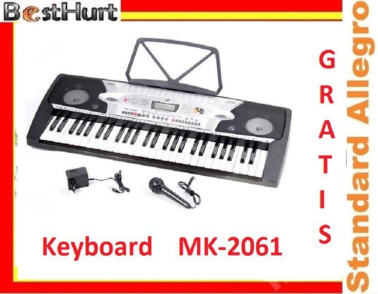 Prof. Organy Keyboard MK-2061 do Nauki 84cm GRATIS