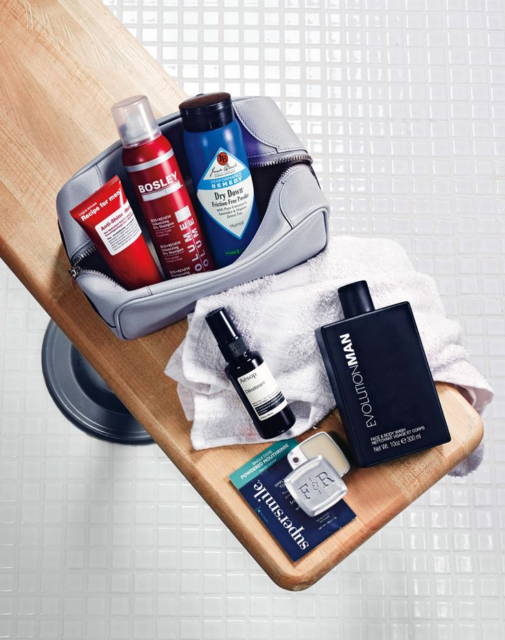 Locker room essentials the perfect gym goer s dopp kit