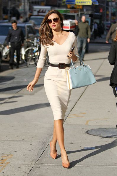 What are they wearing now: Miranda Kerr wows them in New York