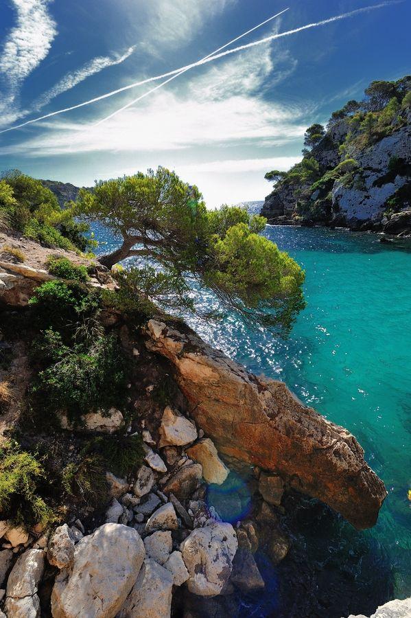 Macarelleta beach Menorca  Spain by Orlando Henriques