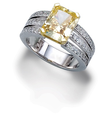 canary diamond engagement ring available at houston. Black Bedroom Furniture Sets. Home Design Ideas
