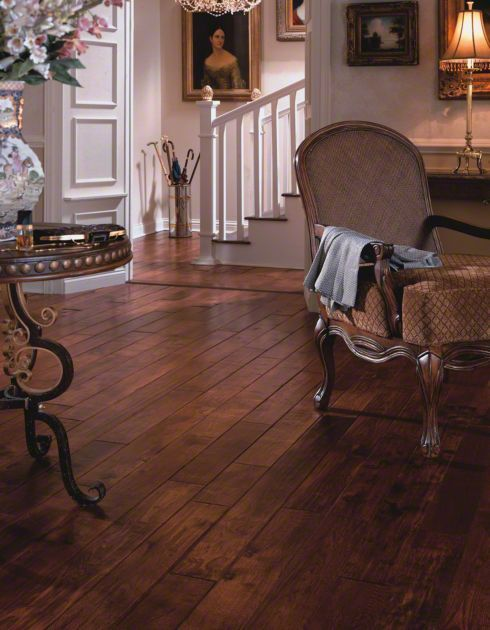"Virginia Vintage Hickory Smokehouse 3/4 x 5"" Hand Scraped | Solid Hardwood Flooring | WeShipFloors"