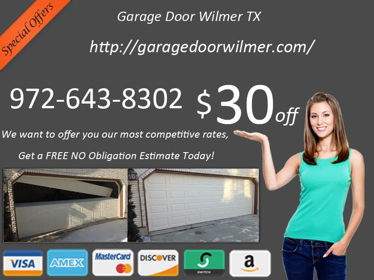 http://garagedoorwilmer.com 972-643-8302 We take our time to diagnose what the problem is. We may, for example, find that you need garage door cable repair and will proceed to have this done on our first visit. It is also likely that your chain is broken or the sprocket doesn't work anymore.