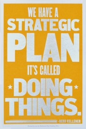 Social good strategy...DO THINGS!
