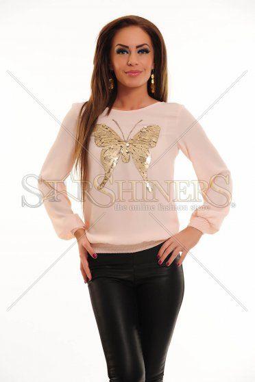 Bluza LaDonna Cute Butterfly Rosa