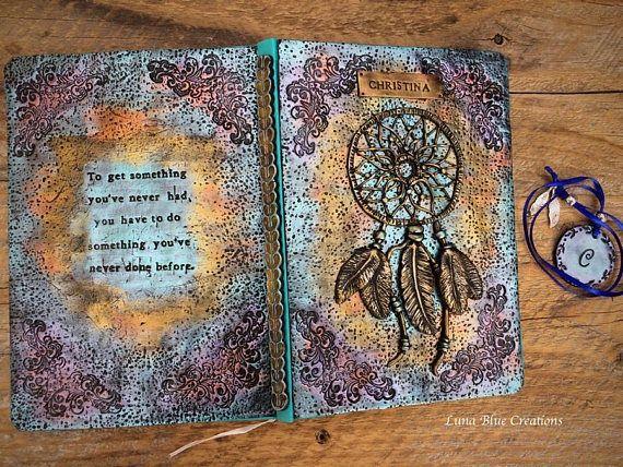 Dreamcatcher Journal Personalized Journal Custom Journal
