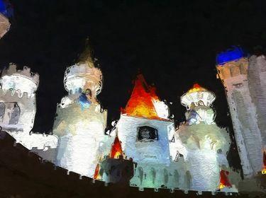 Vegas Excalibur Casino Art