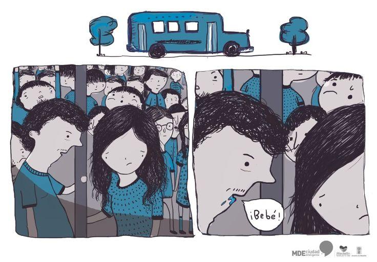 Contenido sobre violencia en el transporte público contra las mujeres: http://www.mdeinteligente.co/estrategia/violencia-de-genero-vencerla-cuando-vas-en-transporte-publico/