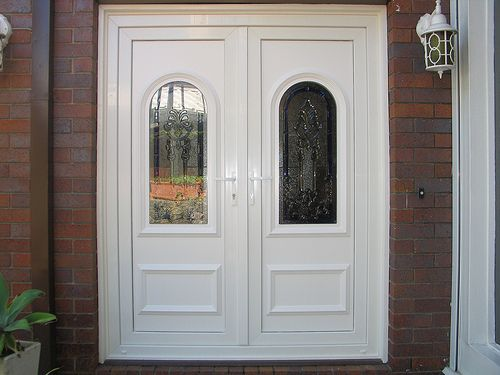 17 best images about front doors on pinterest stains - Upvc double front exterior doors ...