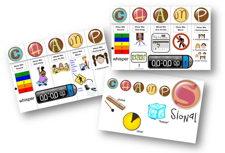 CHAMPS Boards (smartboard)