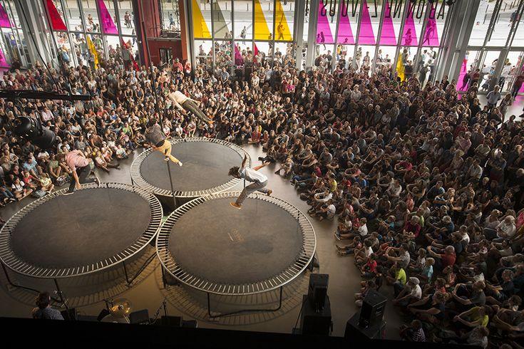 Cri, dans le forum du Quai. (Photo: Thierry Bonnet/Ville d'Angers)