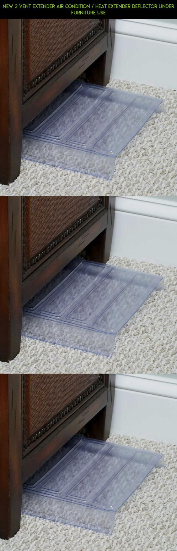 Amazing New 2 Vent Extender Air Condition / Heat Extender Deflector Under Furniture  Use #camera #