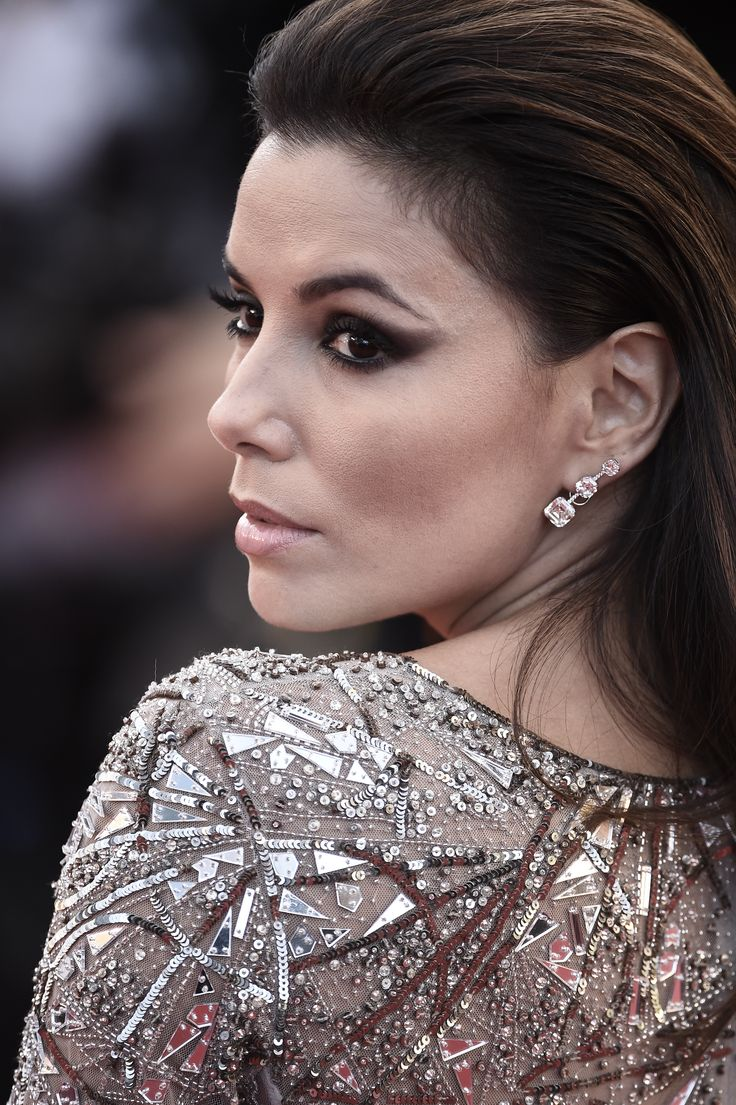 Eva Longoria attends the 'Inside out' premiere during the 68th Annual Cannes Film Festival in Cannes, France.