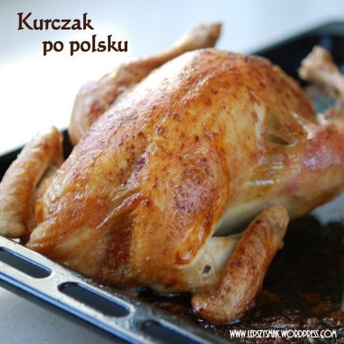 Pieczony kurczak po polski
