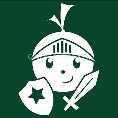 Gek op sprookjes? Ridders en draken? *nieuw* kinderoverall ridder met zwaard en schild   Sprookjes thema   Kinderoveralls met bedrukking uit thema   Chick-a-dees.nl