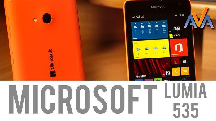 Microsoft Lumia 535  https://www.youtube.com/watch?v=5vLJAQAKmWc