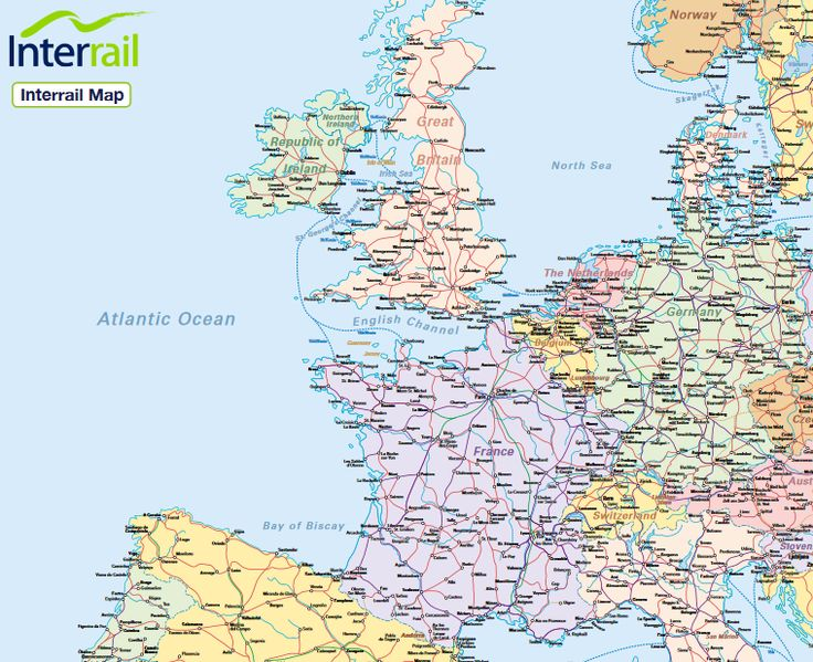 Best Interrail Map Ideas On Pinterest Interrail Trips - Norway map download pdf