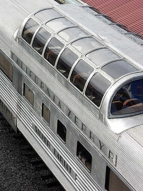 California Zephyr dome car Train
