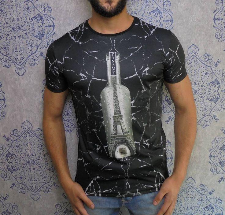 Paris Paname bottle tee www.dopedfashion.nl/en #marble #paname #tshirt #fashion #urban #dope #dopedfashion €24,99 S to XXL