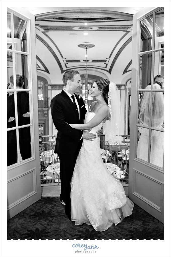 Best Wedding portrait at the Tudor Arms Hotel in Cleveland Ohio Free to use if