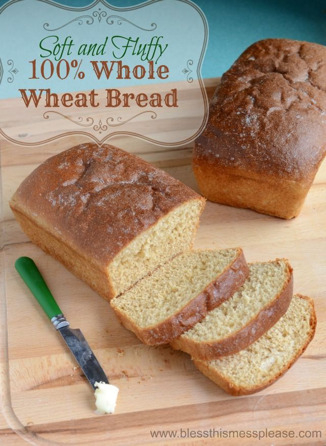 Honey Whole Wheat Bread Recipe the key is in the type of wheat flour! From www.blessthismessplease.com