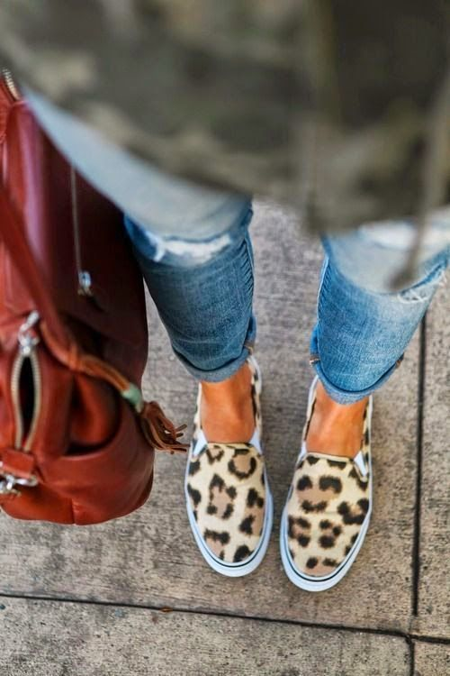 Leopard shoes, always in.