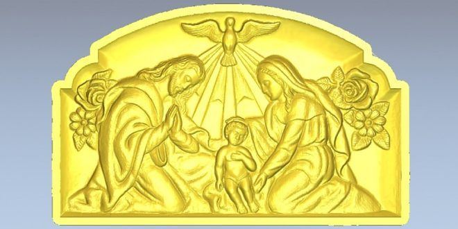 Picture Frame Birth Of Christ Stl Low Resolution Peace Dove Stl Dxf