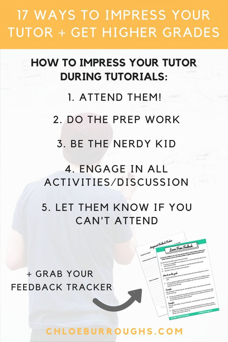 tips to get high grades
