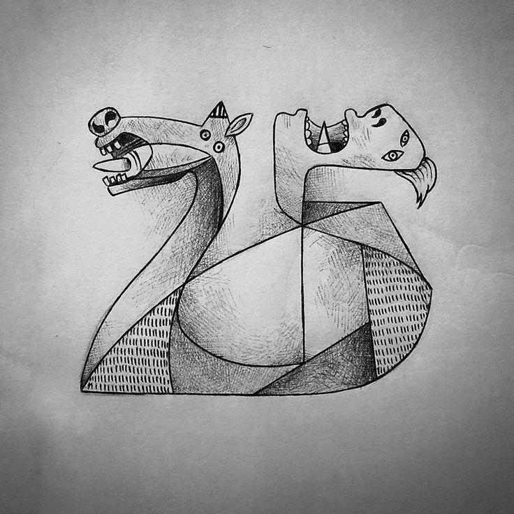 Guido Vitabile - #internationalartistday - Pablo Picasso - illustration - #inktober #inktober2015 #inktobersonry #massoneriacreativa - www.massoneriacreativa.com