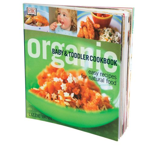 Organic Baby Food Cookbook...