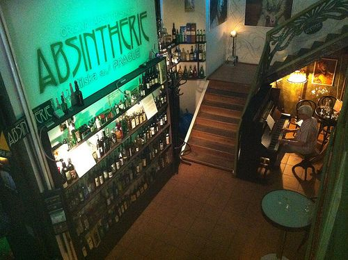 Absinthe Shop #Prague #Nightlife #Interrail #Czech