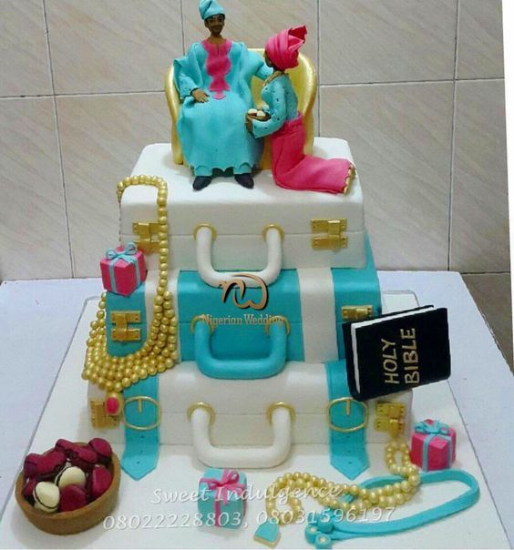 Nigerian Wedding Presents 30+ Traditional Wedding Cake Ideas