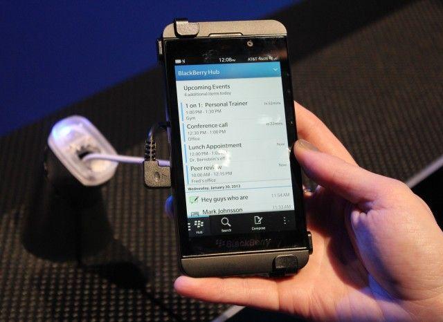 #BlackBerry Z10