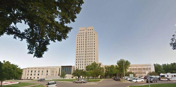 The State Capital Complex Bismarck North Dakota